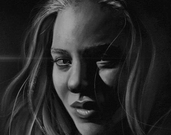 Commissioned portrait by Daniel Wulff Petersen
